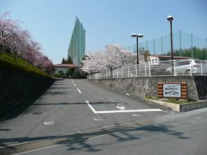 駐車場入口