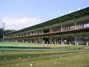 レインボーゴルフ打席